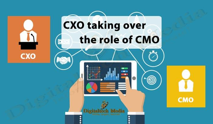 CXO taking over the role of CMO