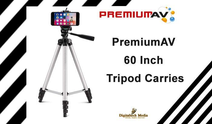 PremiumAV 60-inch Compact Tripod