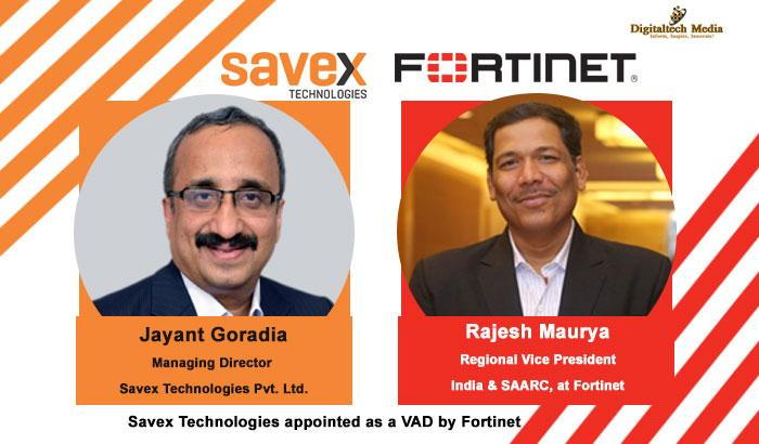 Savex Technologies appointed as a VAD by Fortinet