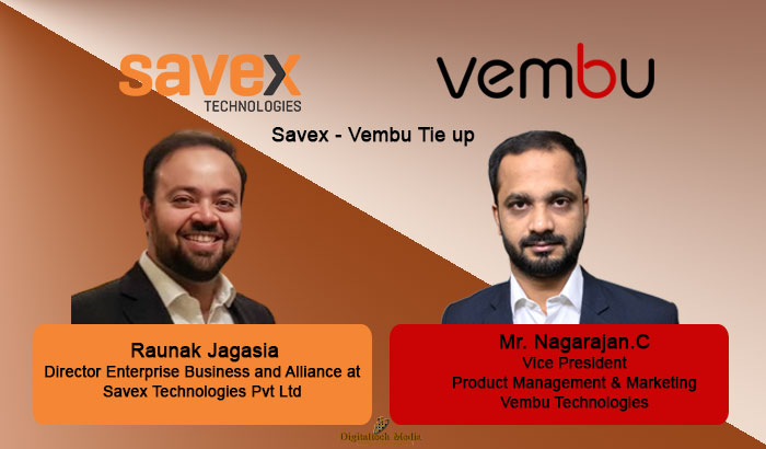 Savex - Vembu Tie up