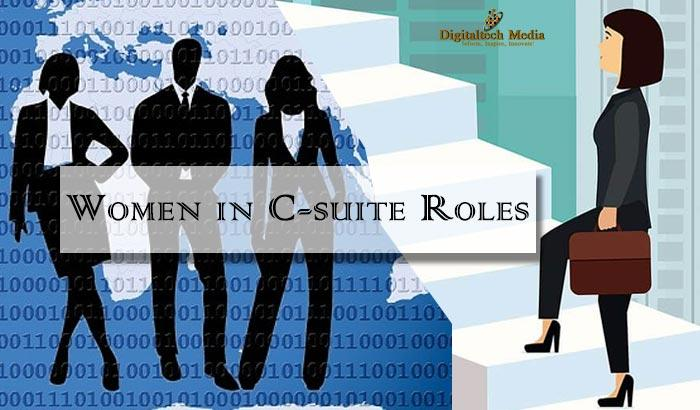 women in C-suite roles
