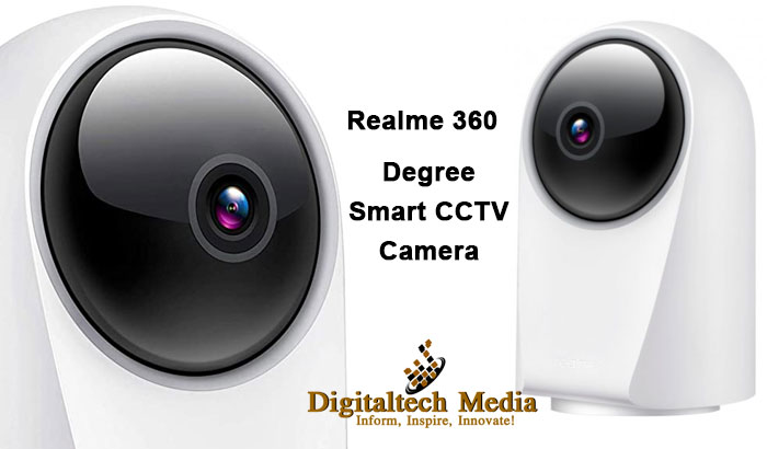 Realme 360-Degree Smart CCTV Camera