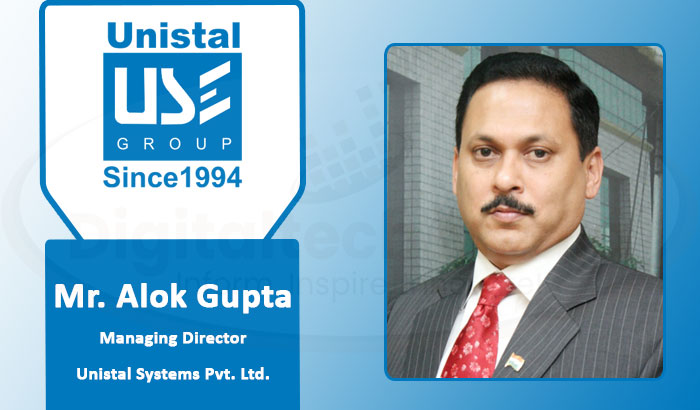 Alok Gupta of Unistal Systems