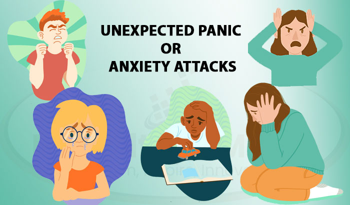 unexpected panic or anxiety attacks